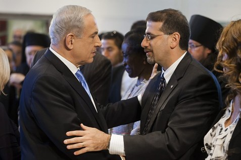 Pm Netanyahu and US Ambassador Dan Shapiro