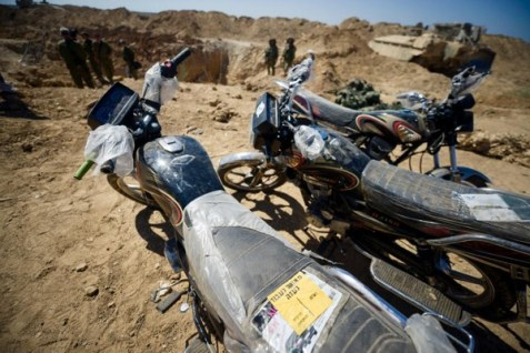 Gazan Tunnel Motorcycles