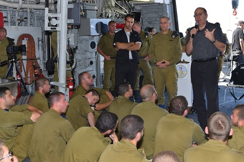 Moshe Yaalon on Navy Base 1