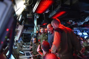 Moshe Yaalon on Navy Base 2