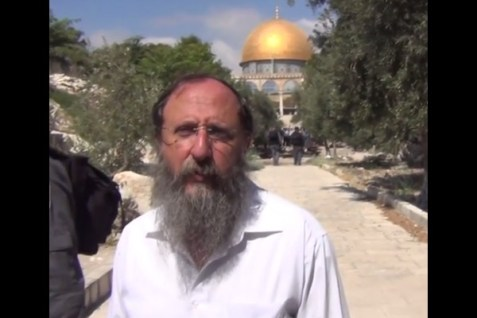 Rabbi Richman on Temple Mount