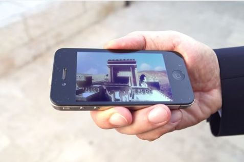 Temple on a Phone