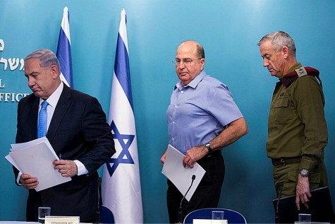 The three salesmen -Netanyahu, Ya'alon and Gantz