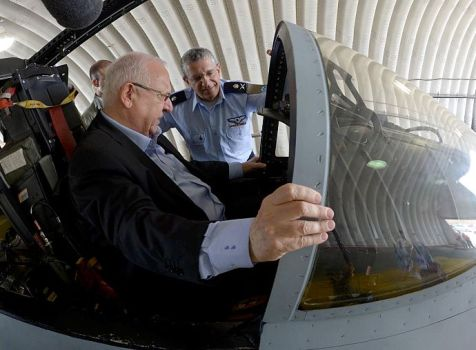 Rivlin in Fighter Plane
