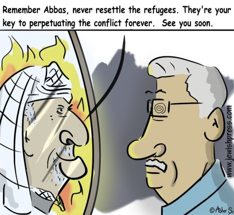 arafat and abbas refugee advise