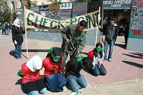 Israeli Apartheid Week at the University of California, Los Angeles campus.