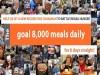 8000 meals