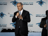 Israel's Prime Minister Benjamin Netanyahu attends an event held at the International Conference Center in Jerusalem of the Taglit Birthright program, where Netanyahu was the guest speaker. January 14, 2015.