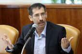 Bayit Yehudi (Jewish Home) Minister Uri Orbach was then in serious condition for a recurring blood disease.
