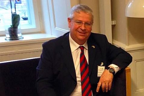 Isaac Bachman, Israel's Ambassador to Sweden