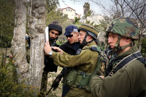 Efrat IDF Training on Map