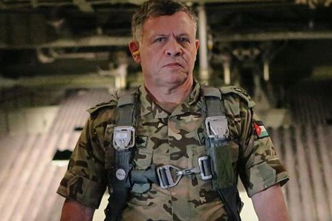 Jordan's King Abdullah II, a licensed helicopter pilot, is rumored to have personally taken part in air strikes against ISIS.
