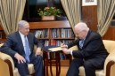 Prime Minister Benjamin Netanyahu and President Ruby Rivlin