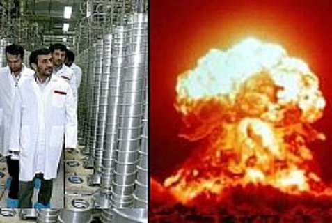 Former Iranian President Ahmadinejad and north Korean  nuclear test.