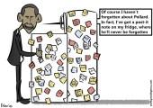 Obama Post-its