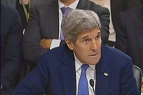U.S. Secretary of State John Kerry. July 29, 2015.