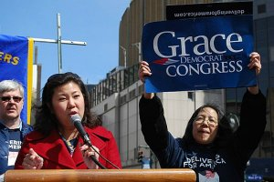 Queens. New York City Rep. Grace Meng.