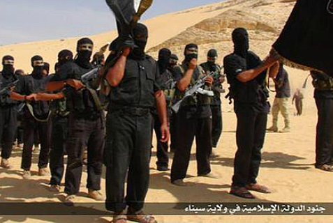 ISIS in Egypt, according to an image it posted on social media.