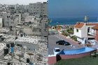 The picture on the right is the reason people living in the picture on the left might overthrow Hamas.