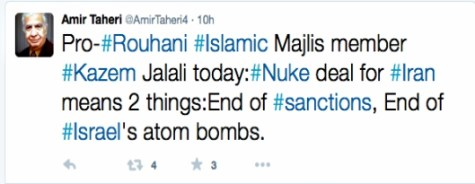 Amir Tehari tweet