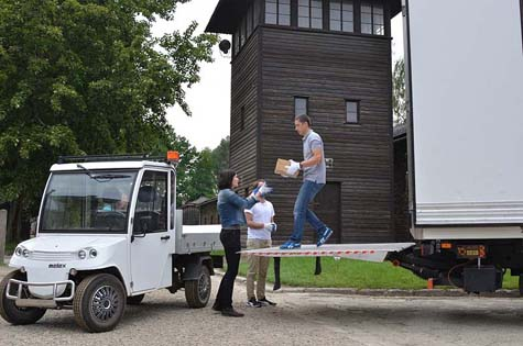 Auschwitz personal belongings transported / Photo: Paweł Sawicki