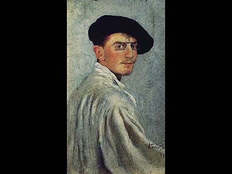 Bakst's Self-portrait, 1893