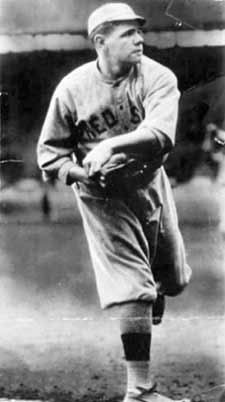 Babe Ruth was a star pitcher in 1916.