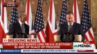 UK Prime Minister David Cameron and US President Barack Obama take a question at a press conference, on whether it is appropriate for Obama to say whether or not the UK should remain in the European Union, April 22, 2015.