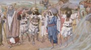 The Waters are Divided/The Egyptians are Destroyed, (Artist:     James Jacques Joseph Tissot, French, 1836-1902)