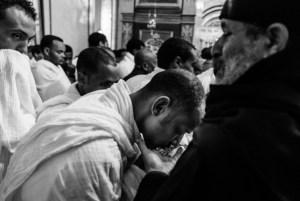 Ethiopian worshippers