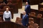 Israeli prime minister Benjamin Netanyahu in the Knesset. Oct. 12, 2015