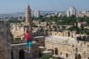 Tightrope over Jerusalem