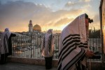 Prayers at Sunrise in Jerusalem