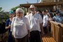 Hallel Ariel's parents on Temple Mount