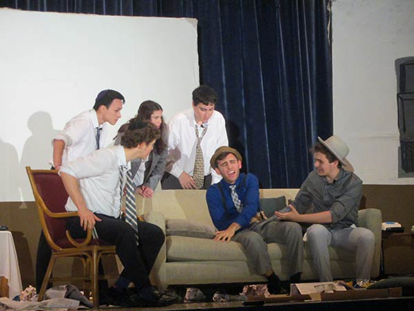 RASG Hebrew Academy's production of Neil Simon's 'The Odd Couple.'