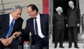"France's peace initiative, which includes an international summit in Paris on May 30 to discuss the ""parameters"" of a peace deal, is French President François Hollande's equivalent of de Gaulle's betrayal of Israel."