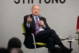 George Soros / Photo credit: Heinrich-Böll-Stiftung