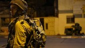 IDF Soldier participating in the Jenin raid 092616.