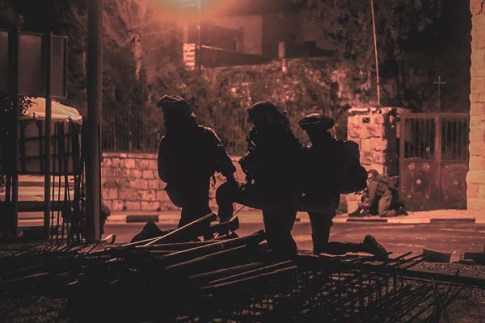 IDF raid. Photo by Israel Army Spokesperson
