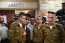 Trial of IDF Soldier Elor Azaria Near Kiryat Malachi.  March 29, 2016