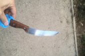 Knife used in recent terror attack.