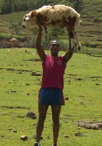Mekonen in Ethiopia