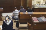 Turkish Muslims praying Jewish prayer shawls