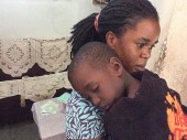 Nantabo Esther with her son Mugaga Treva