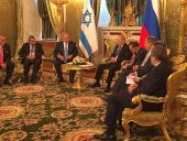 PM Benjamin Netanyahu, Russian President Vladimir Putin meet at the Kremlin.