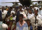 Operation Solomon passengers on their way to the Promised Land.