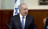 PM Netanyahu at a Cabinet Meeting