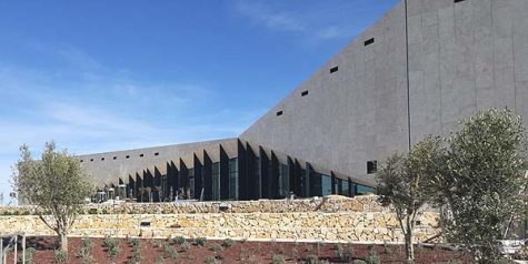 The Palestinian Museum=Empty. A void.
