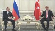 Vladimir Putin and Recep Tayyip Erdogan / Photo credit: Anadolu State Agency
