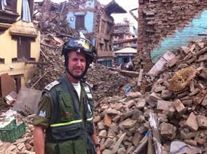 In Nepal courtesy of ZAKA spokesperson.